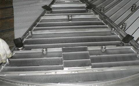 Pro-SLOT® wedge wire mash tun floor