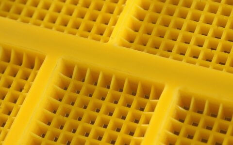 Polyurethane screens - square mesh