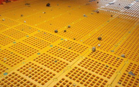 Polyurethane modular screens - PRO-CLIN